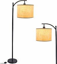 Iron led Floor Lamps 3000k Warm White Floor