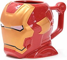 Iron Man Coffee Mugs 3D Cups and Mugs Ceramic Mark