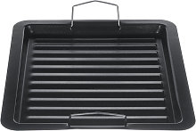 Iron Non Stick Griddle Pan Grill Tray Cooking