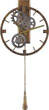 Iron Pendulum Wall Clock ø 30 cm Gold MARCOTE