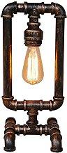 Iron Steampunk Vintage Table Lamp Antique