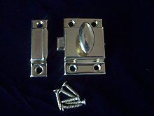 IRONMONGERY WORLD® 55MM Brass Cupboard Cabinet
