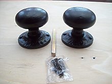 IRONMONGERY WORLD® Black Antique CAST Iron