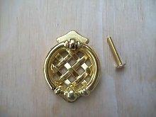 Ironmongery World Brass Lattice Cupboard Cabinet