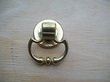 Merriway BH04912 Georgian Cupboard Cabinet Door Knob Brass 25mm Set of 10 Piece