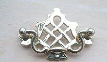 IRONMONGERY WORLD® Brass Plated Fancy Ornate