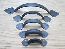 IRONMONGERY WORLD® Hand Forged CAST Iron Old