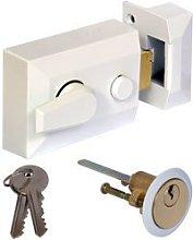 Ironmongery World Narrow Traditional Door Lock