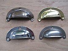 IRONMONGERY WORLD® Retro Vintage Steel Shell