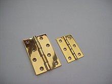 Ironmongery World Solid Brass Double Washered Door
