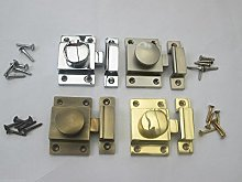 IRONMONGERY WORLD® Solid Brass Old Style Cupboard