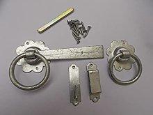 Ironmongery World Spelter Galvanised Ring Gate