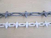 IRONMONGERY WORLD® Spike Chain Spiked Link Chain
