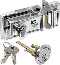 IRONMONGERY WORLD® Standard Traditional Door Lock