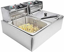 iropro 20L Stainless Steel Deep Fat Fryer 2500W
