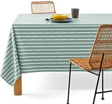 Irun Oilcloth Type Tablecloth in Pure Soft Cotton