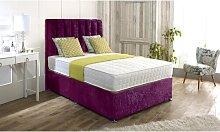 Isaac Upholstered Divan Bed and Headboard Rosdorf