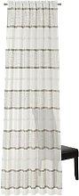 Isabeth Pencil Pleat Sheer Single Curtain Zipcode