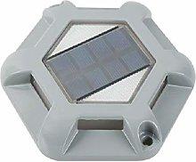 ISAKEN Solar Decking Lights, Solar Floor Lights,