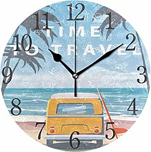 ISAOA Clocks for Home Bedrooms Kids Living Room