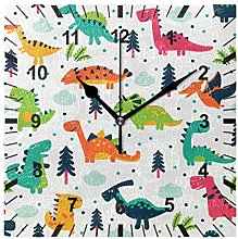 ISAOA Non Ticking Silent Wall Clock,AdorableFunny