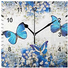 ISAOA Non Ticking Silent Wall Clock,Dinosaur_11