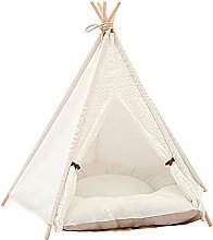 Ishine Cat Tent Dog Teepee Cat Bed with Cushion