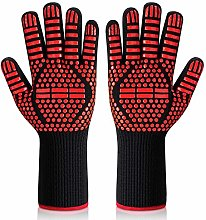 Isilila BBQ Gloves Extreme Heat Resistant Up to