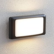 Iskia LED outdoor wall lamp without strip