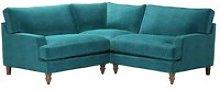 Isla Small Corner Sofa in Neptune Smart Velvet