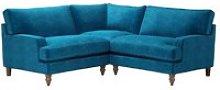 Isla Small Corner Sofa in Scuba Smart Velvet