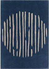 Island Blue Rug - 170 x 240 cm / Blue / Wool