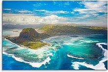 Island Group, Le Morne Brabant Framed Photographic