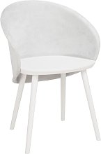Issac Dining Chair Isabelline Colour: Textile Beige