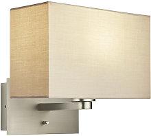 Issac Rectangular wall light
