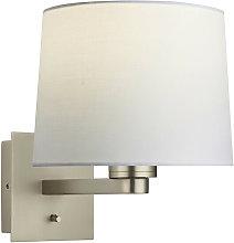 Issac Taper E27 wall light