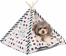 iSunday Pets Teepee Tent Dogs Cats Rabbits Bed