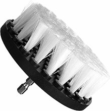 Iswell Drill Brush Set Scrubber Brushs White
