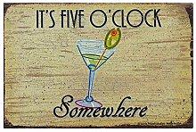 It's 5 O'clock Somewhere Art Poster