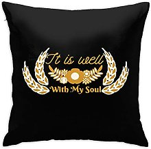 It is Well with My Soul Square Pillow Case Home