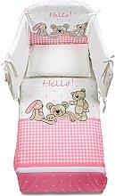 Italbaby 4 Piece Pony Hello Bedding Set,