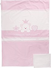 Italbaby Baby Re Maxi Bedding Set, Pink,