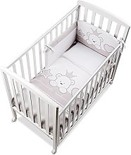 Italbaby Baby Re Q.lletto Cot, Dove Grey,
