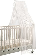 Italbaby Tulle Canopy with Stand, Beige,