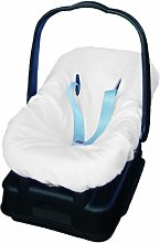 Italbaby Universal Terry Cover for Car, White,