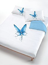 Italian Bed Linen Duvet Cover Set Butterfly