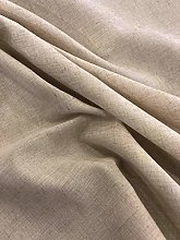 Italian Linen Tablecloth Beige (Square 170x170 cm)