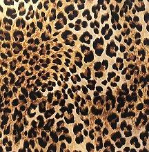 Italian Velvet Leopard Printed Upholstery Fabric