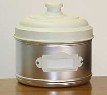 Italo Ottinetti Aluminium Storage Canister with