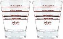 ITALPARTS Round Espresso Shot Glass (2)